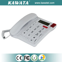 White analog single line telephone favorable price