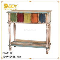 Shabby chic finished wooden antique furniture