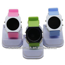 2013 cheap Alloy silicone wristband watches men