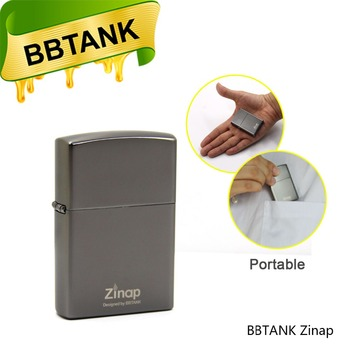 Lighter Look BBtank Design Zinap 0.5ml vape pen refillable disposable with 410mAh vape pen battery
