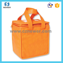 Foldable insulated high quality cool ice picnic lunch cooler bag