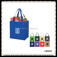 Cheap Recycled Custom Grocery Tote Shopping PP Non Woven Bag