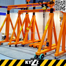 New Model small gantry crane for sale, Single-Girder Overhead Crane Price 2T Remote Control Workshop