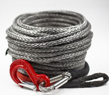 TOUGH ROPE synthetic 4x4 winch rope with hook