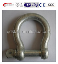 swl 80kgs to 8000kgs European type large bow shackles