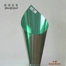 Silve glass window one way see through film reflective mirror building solar window film