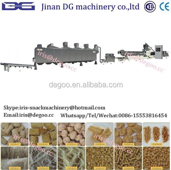 Continuous concentrated Textrued Soy Protein Machine
