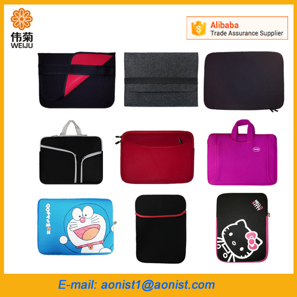wholesale custom neoprene laptop case computer bag laptop sleeve for macbook