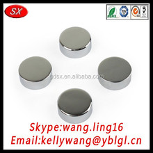 Dongguan factory custom decorative mirror screw cap, precision mirror screw decorative cap