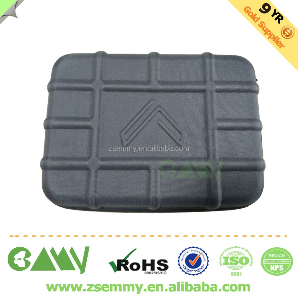 China custom hard EVA zipper foam case for tool stroage cases