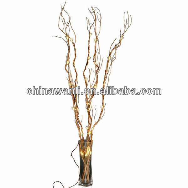 willow branch w/ lighting, LED home decoration