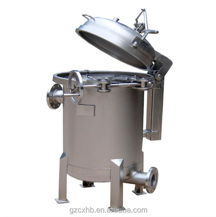 High quality solid liquid separator kitchen equipment stainless steel SS 304 bag filter