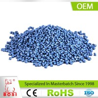 Antiweathering Function Blue Color Master Batch Filler Masterbatch Manufacturer