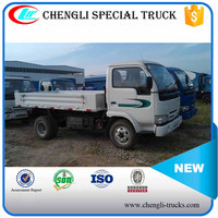 CHINA IVECO 2 ton loading 2.5cbm capacity 6 wheeler 4*2 type right hand drive yuejin mini dump truck
