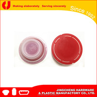56mm non spill pull ring plastic caps / plastic spouts / screw cap wholesaler China