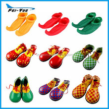 Adult Clown Costume Shoes Leather Halloween Cosplay Shoes