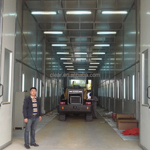 Truck, Bus or Train Paint Booth, Customized Design Color Paint Booth