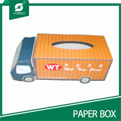 CUSTOM IVORY BOARD PAPER BOXES SPECIAL TISSUE HOLDERS