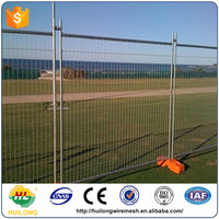 rubber base temporary fence