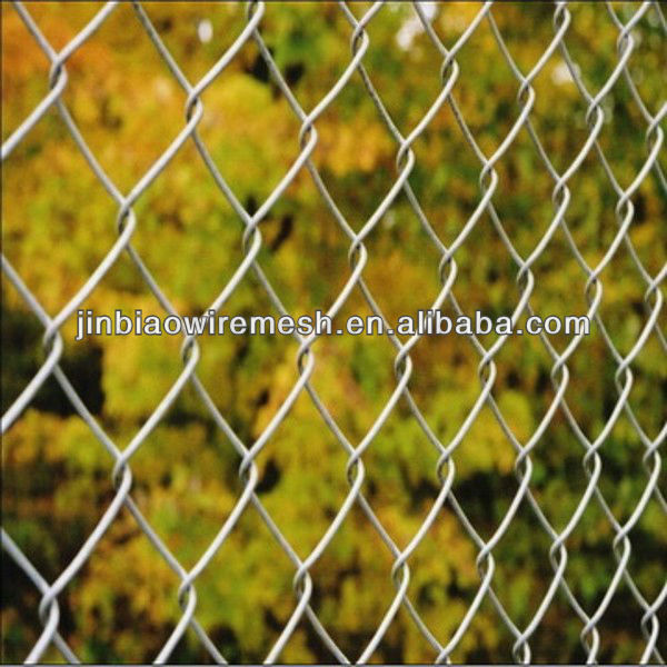 Hot dipped galvanized and PVC coated knuckle & Twist Chain Link Mesh Fence / Chain link Fabric / Chain link fencing