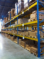 Orange and Bule Warehouse Pallet Rack used pallet rack beams