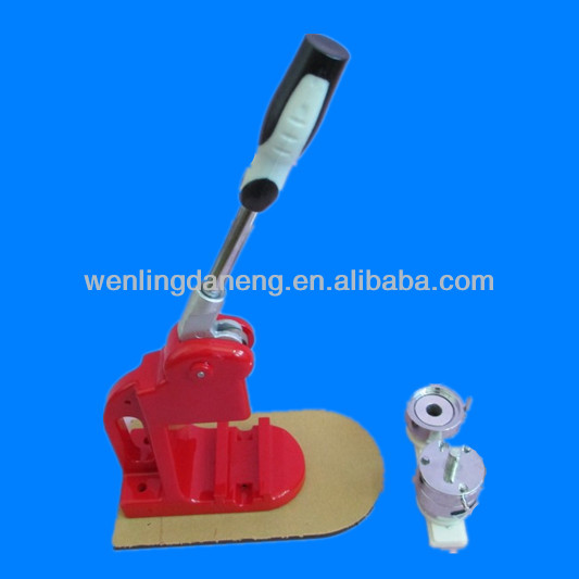 metal button/badge making machine of 25mm mould