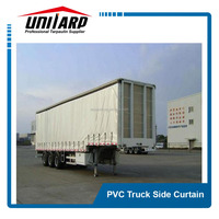 Open Top Container/Truck Side Curtains , PVC Container/Truck Cover