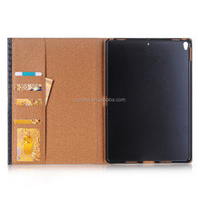 Factory wholesale high quality leather flip smart cover folio stand protective case for ipad pro 10.5