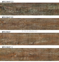 high quality wood look ceramic floor tile ,interior decorate wall tile,inkjet printing