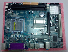 845/865/945/g31/g41---Factory hot selling G41 DDR3 socket 775 mainboard with 8 USB ports,4 sata ports
