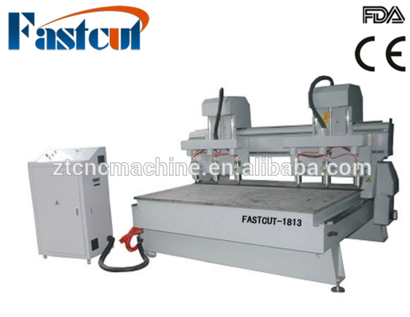 FASTCUT-1813 3.0 4.5 5.5 kw spindle Ac220V voltage DSP control system cnc cutting equipment