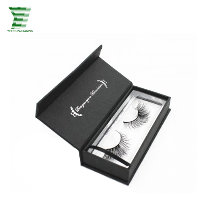 Custom Elegant Empty Gift Box False Eyelash Packaging