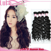 Luke Hair 6A New Arrival Natural Color High Quality 14 Inch Unprocessed Virgin Peruvian Loose Wave Hair Bundles