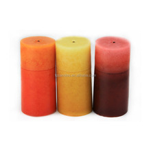 colorful a variety of shapes paraffin wax candle for sale