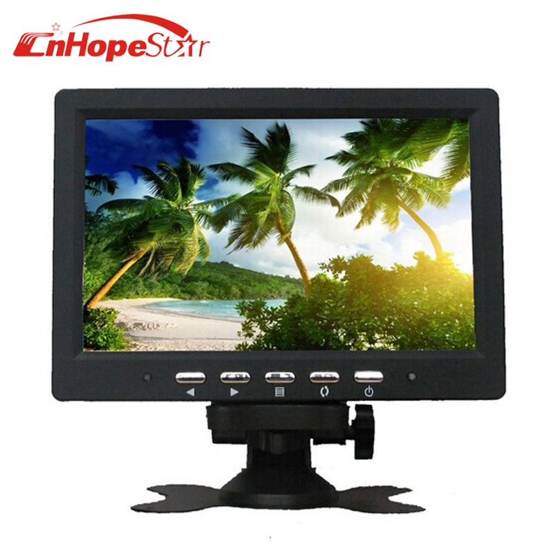 7 inch Dashboard Stand Alone Car Monitor with 2 Video Input