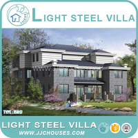 Insulation Modular Light Steel villa house,Living Sandwich Panel villa house,Prefabricated pvc villa House