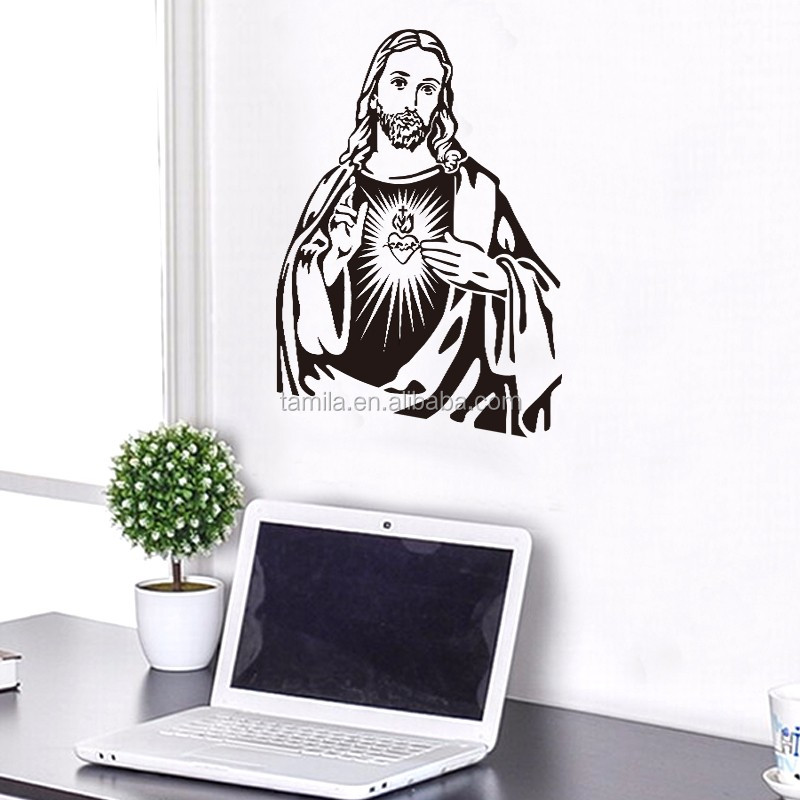 Jesus Image of Wall Paper, Poster of Church Wall Sticker