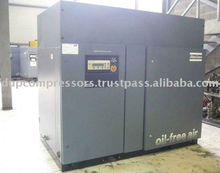 Atlas Copco Used Rotary Oil Free Screw Air Compressor