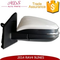 2014 toyota rav4 side mirror with 9 lines, electric folding, heating, led lamp, OE: 87940-0R130