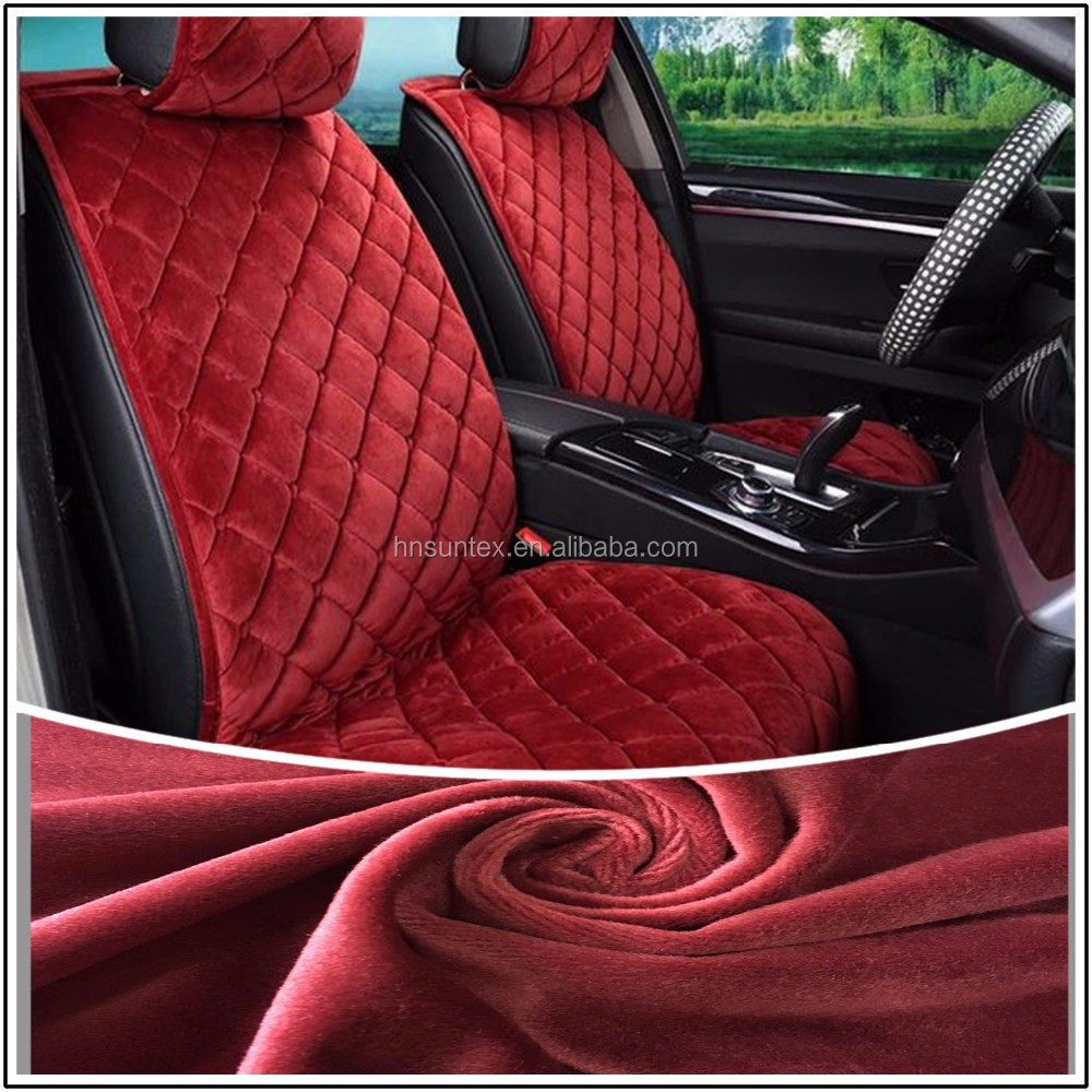 100% Polyester tricot Warp Knitted Car Fabric Automotive Interior Upholstery Fabric