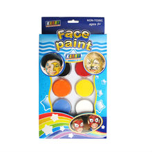 KIDS CRAFT 6-colours fun face paint make-up ,brilliant