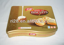 Special shape biscuits tin box