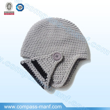 Knight Helmet Knit Adjustable Face Mask Beanie Hat