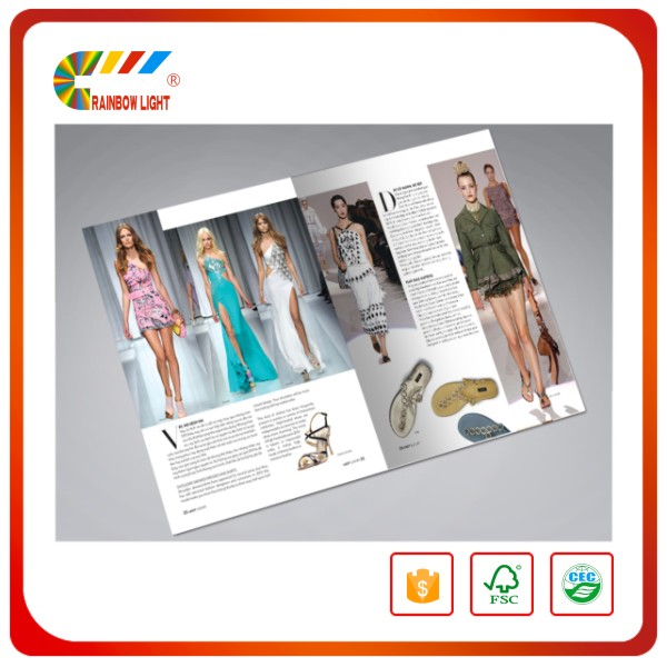 High standard short run fashionable adult colorful print sex magazine