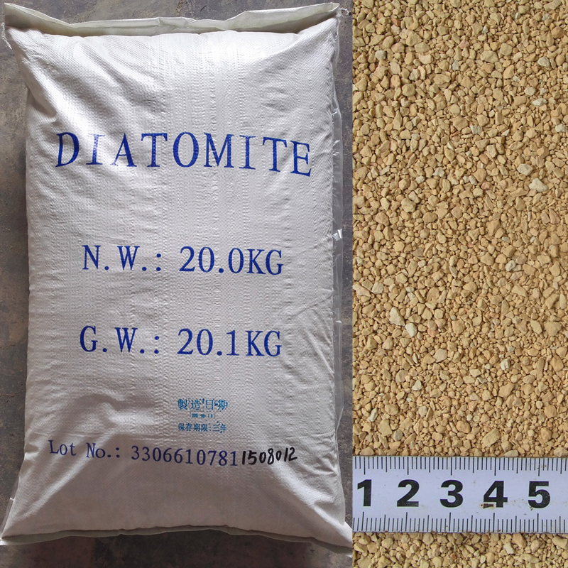 FINE ORGANIC DIATOMACEOUS EARTH for SOIL & TURF CONDITIONER AMENDMENT