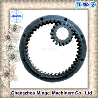 mitsubishi tractor parts Pinion Gears Ring for concrete mixer & Crown Gear Wheels Gear Ring for excavators parts