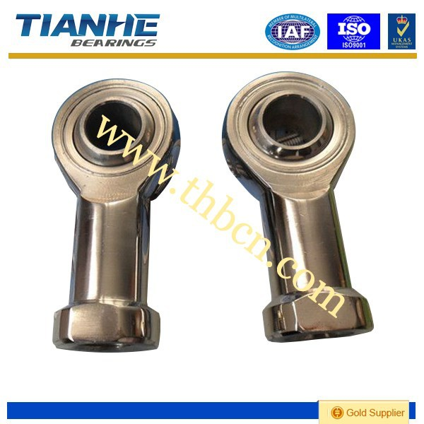 female self lubricating rod end bearing with ball head joint