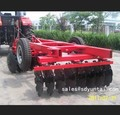 hydraulic pressure offset disc harrow