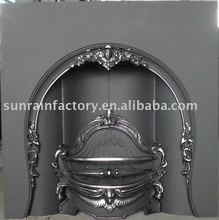 europe cast iron indoor metal wood burning insert fireplaces/indoor metal fireplace stove