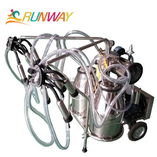 Dairy Vacuum Pump Single Cow Portable Milking machine For Sale